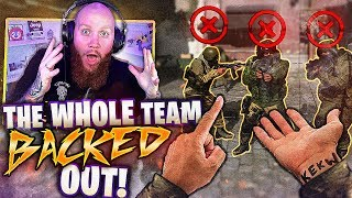 I MADE THE OTHER TEAM BACK OUT! - Call of Duty: Modern Warfare