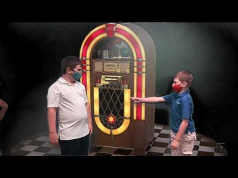 Pace Brantley School Book Fair Time Machine Performance