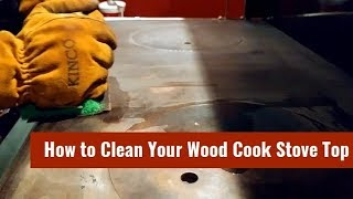 Gambar cover Cleaning Stainless Steel Wood Cook Stove Surface