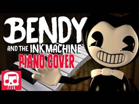 "Thumbnail: Bendy and the Ink Machine Song Cover - ""Can't Be Erased"" - JT Machinima (Piano Cover by Amosdoll)"