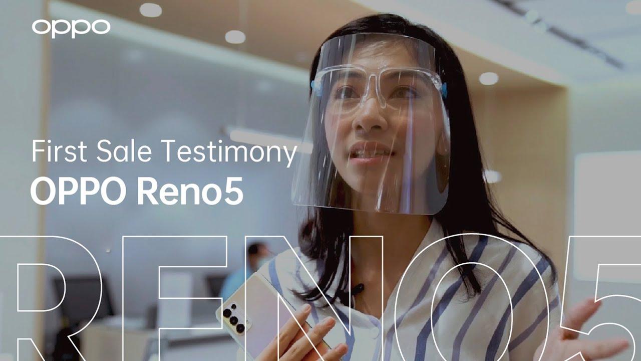 OPPO Reno5   First Sale Testimony