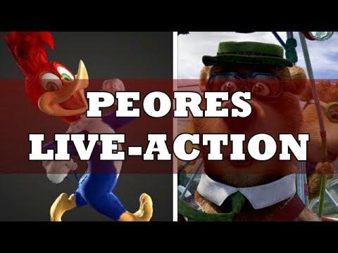 Download Top 5: Peores Peliculas Live-Action De Series Animadas