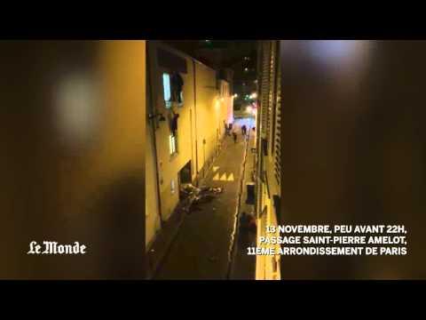 Imagini SOCANTE ale atentatelor din PARIS