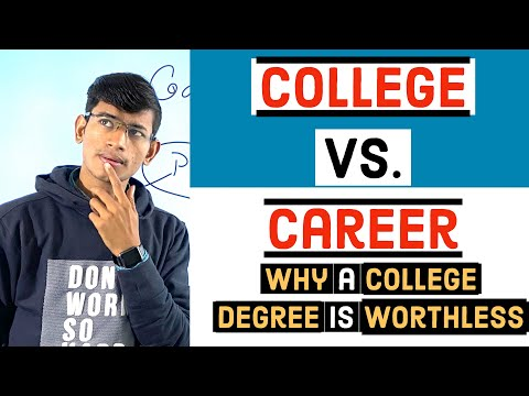 why-a-college-degree-is-useless-?-college-vs-career-drama-?-placement-vs-self-business-strategy