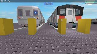 A Train Showcase-Roblox