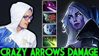 MIRACLE [Drow Ranger] Crazy Arrows Damage Hard Comeback Game 7.23 Dota 2