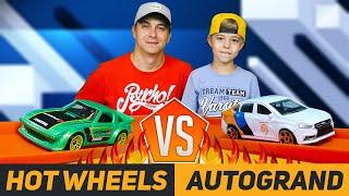 Гонки машинок ХОТ ВИЛС против RUSSIAN SERIES! + ИТОГИ РОЗЫГРЫША   Hot Wheels vs Autogrand!