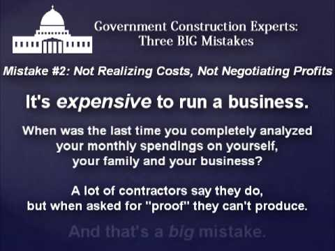 3 BIG Mistakes that (almost) ALL Contractors Make