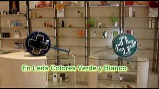 Cruz de  leds - Cruces para Farmacias -  Mobilifarma 2017 Video