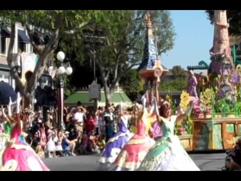 Mickey's Soundsational parade Disneyland 6/14/2011
