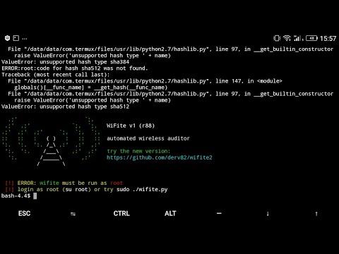 تحميل شرح ثبيت اداة wifite في termux حصري how to download