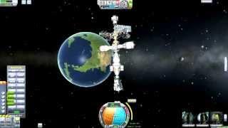 Kerbal Space Program - Reusable Space Program Episode 26 - Construction Disaster