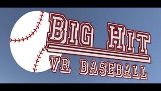 Big Hit VR Baseball Trailer PC HTC Vive