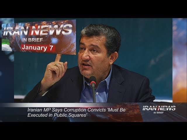 Iran news in brief, January 7, 2019