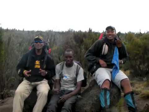 Kilimanjaro guides sing