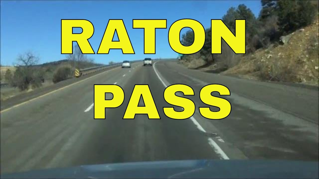 Raton Pass Raton New Mexico To Trinidad Colorado Youtube