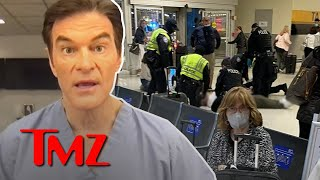 Dr. Oz Saves Man's Life at Newark Airport After He Collapsed | TMZ