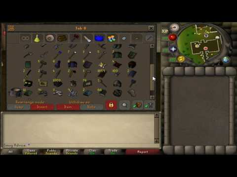[OSRS] Progress video #1: Bank video - Smug Advice