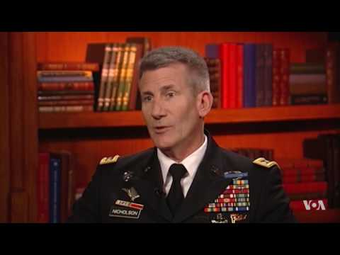 VOA's Exclusive Interview With General John Nicholson