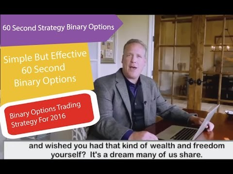 60 seconds strategy binary options