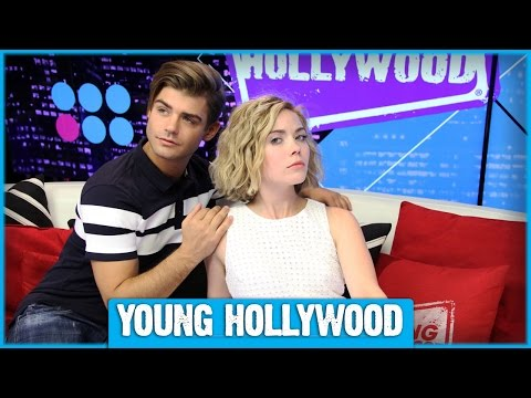 Grace Phipps & Garrett Clayton Teach  TEEN BEACH 2 Dance Moves! PART 2