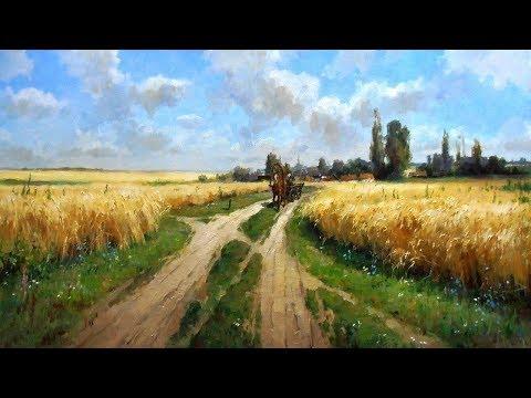 Душевные пейзажи современного художника Романа Божкова