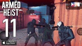 ARMED HEIST - Walkthrough Gameplay Part 11 - Region 7 Rank 6