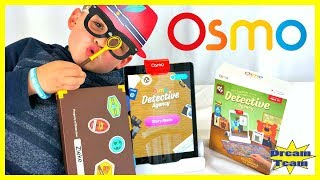Osmo Detective Agency, Can Detective Zieke From Dream Team Toys Review Find The Missing Game