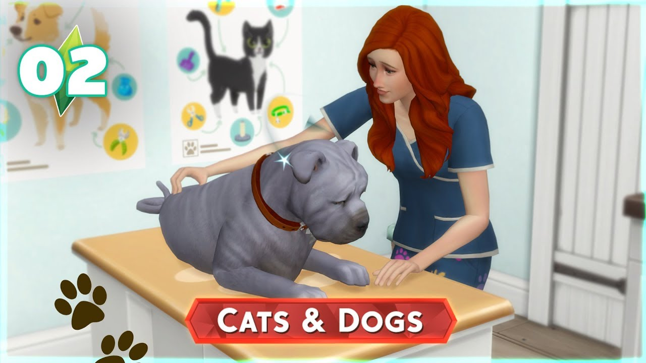 The Sims 4: Cats and Dogs   Ep.02: First Day as a Vet   Marielitai Gaming
