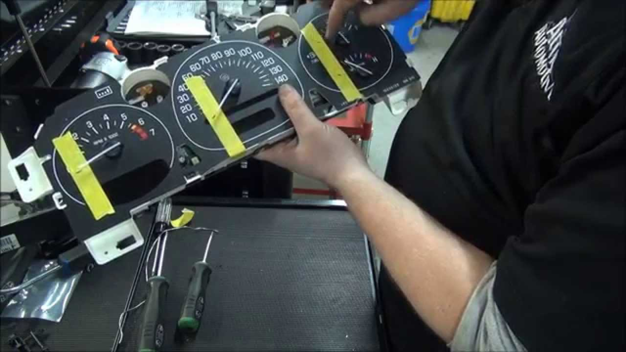 how to repair gm instrument cluster