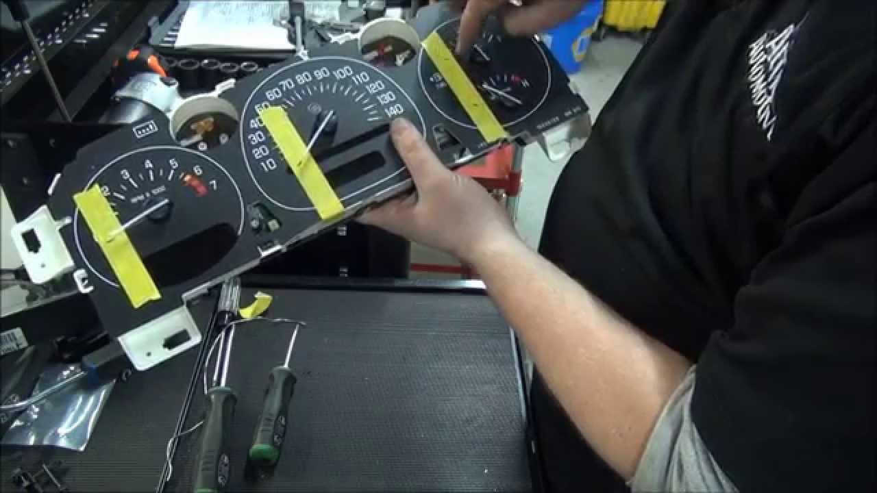 How to repair GM Instrument Cluster | Speedometer | Gauge