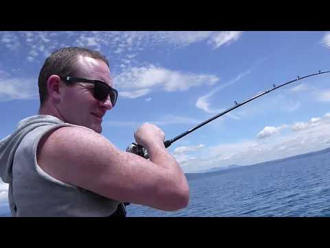 Jigging For Trout, Lake Taupo NZ