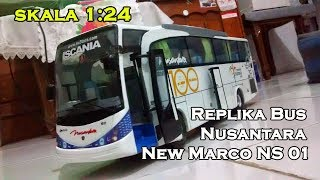 Gambar cover Replika Bus Nusantara New Marco Ns01