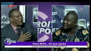 Droit de Réponse - Paul BIYA: 35 ans après.  Équinoxe tv 12 11 2017