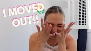 I MOVED OUT! ★ sydney carlson
