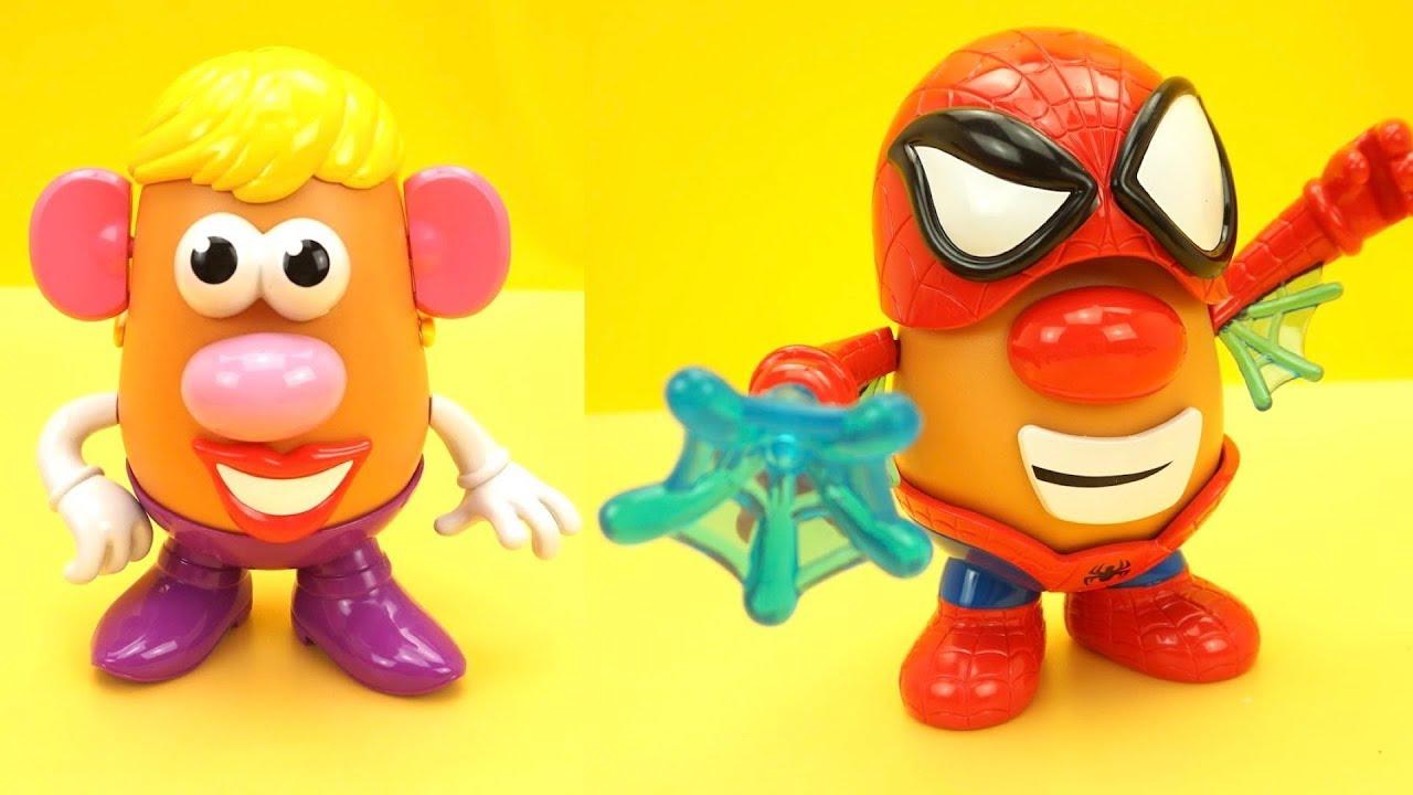 Забавная игрушка конструктор для детей, делаем разных персонажей
