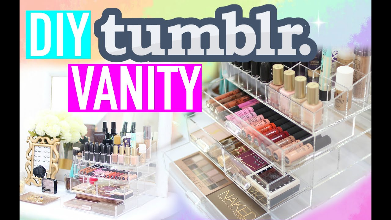DIY TUMBLR VANITY HACKS