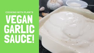 Creamy Garlic Aioli Sauce - You Won't Believe It's Vegan!