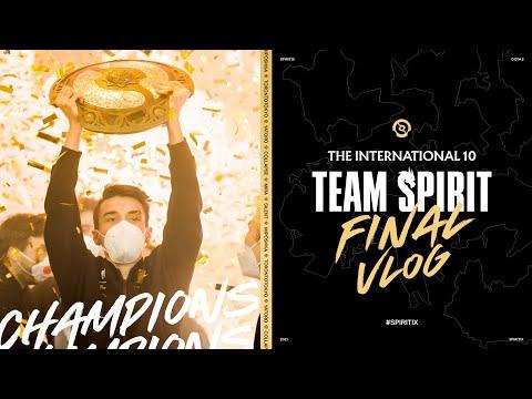 TEAM SPIRIT. THE INTERNATIONAL 10. FINAL VLOG