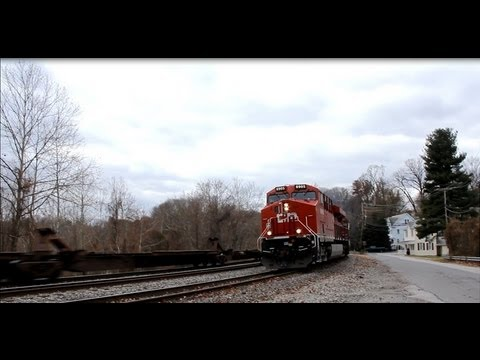 **RARE!** SOO Line and Canadian Pacific Leading CSX Ethanol Train!