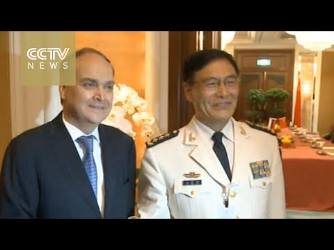 China, Russia pledge to boost military ties