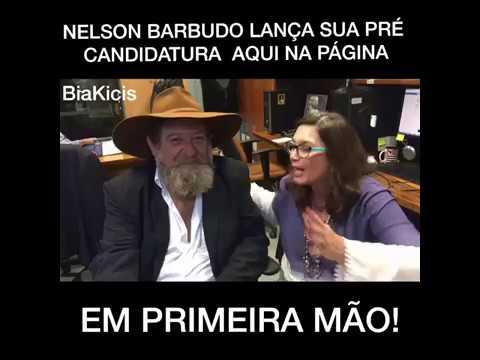 Nelson Barbudo lança sua pré candidatura pelo PSL MT em apoio a Bolsonaro