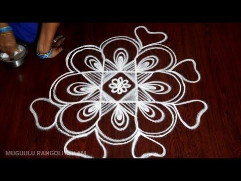 easy diwali rangoli designs free hand easy kolangal daily muggulu designs friday kolam designs 2018