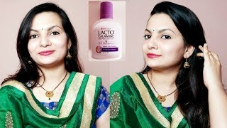 Lacto Calemine Lotion Easy &Quick Makeup Tutorial For Indian Festivals |AlwaysPrettyUseful