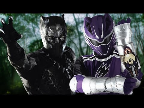 Black Panther (Power Rangers: Jungle Fury Style!)