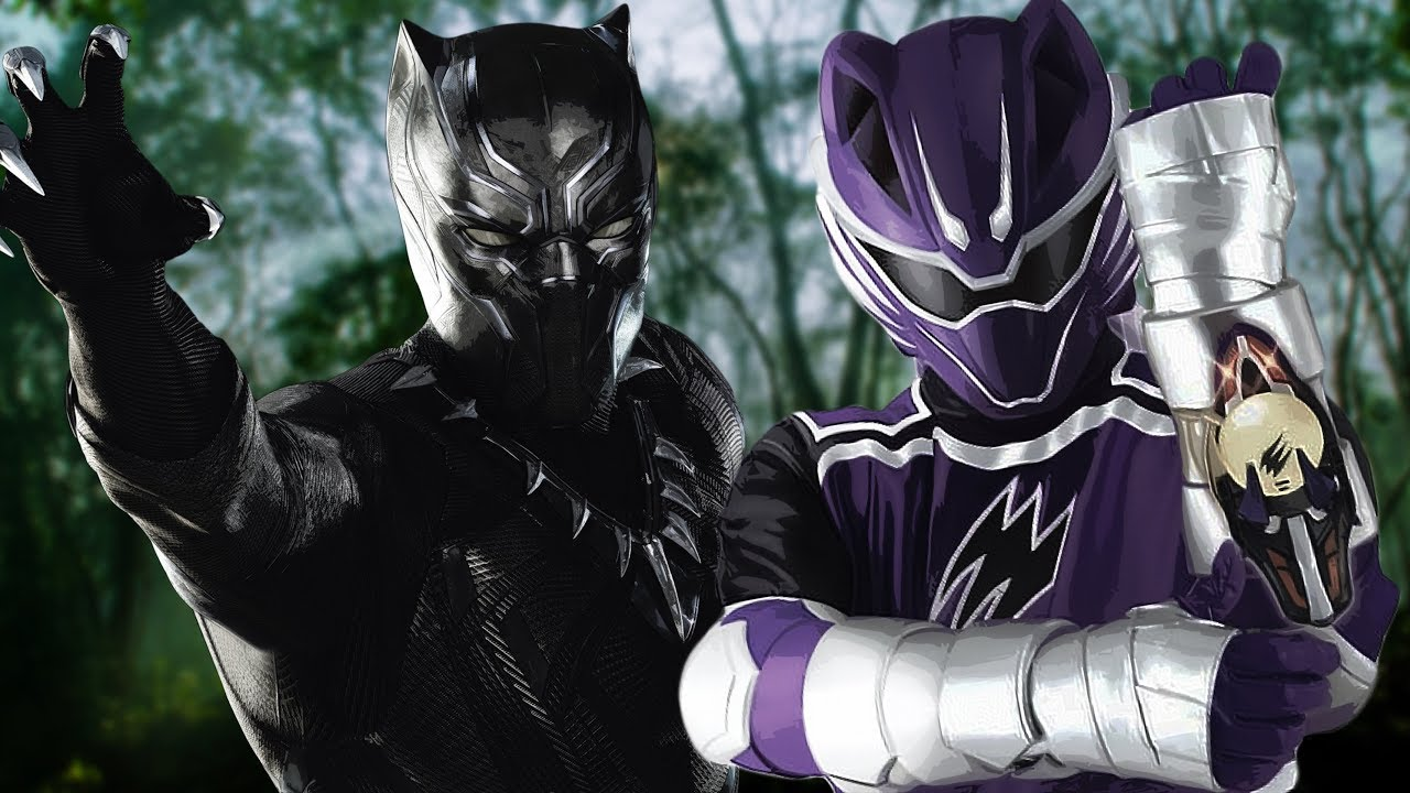 Black Panther Power Rangers Jungle Fury Style Youtube