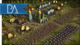 MARCH OF THE MUSKETEERS - Cossacks 3 Gameplay
