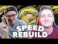 CINDERALLA SUPER BOWL RUN!? Madden 18 Speed Rebuild VS. YoBoy Pizza