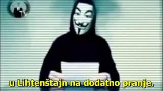 Anonymous message to Croatia