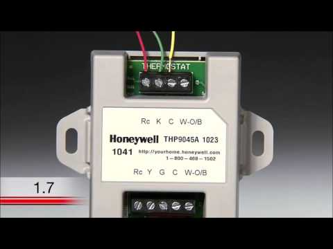 How to Install a Honeywell TH8320WF Thermostat